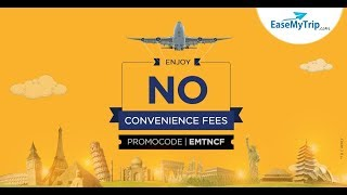Travel with No Convenience Fee - EaseMyTrip