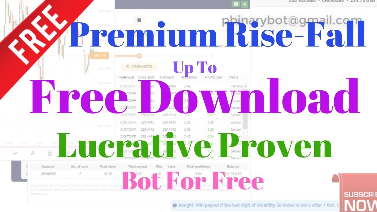 Free Binary.com Bot - Premium Rise-Fall Binary Bot ...