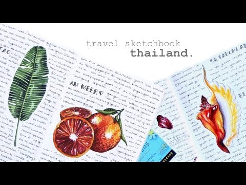 Illustrated Travel Journal - Thailand