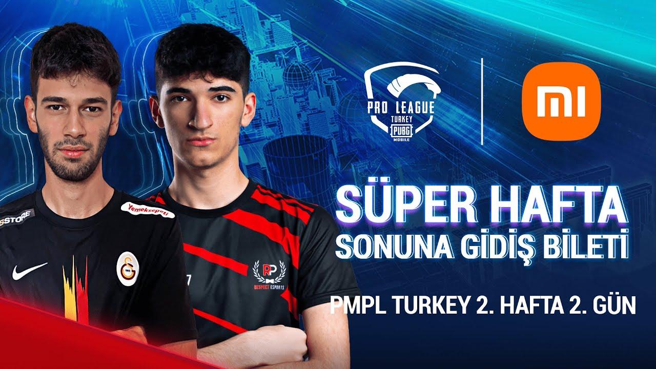 [TR] 2021 PMPL Turkey H2G2   Sezon 2   Xiaomi   PUBG MOBILE Pro League 2021