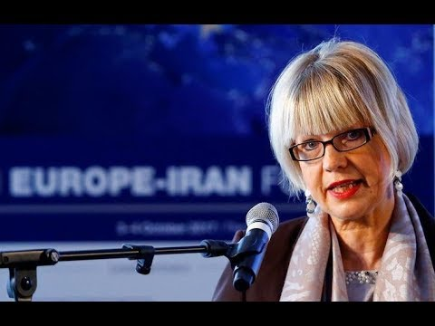 European Commitment to Iran Business Diplomacy | Helga Schmid at EIF4