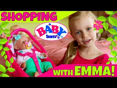 ☘Baby Born Emma