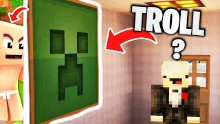 EPISCHER VERSTECK TROLL an REWI 😅 Minecraft Hide and Seek