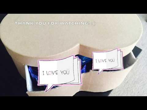 DIY Cardboard Drawer Box Tutorial | Heart Box Makeover