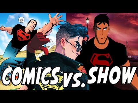 SUPERBOY │ Comics Vs. TV Show (Young Justice)