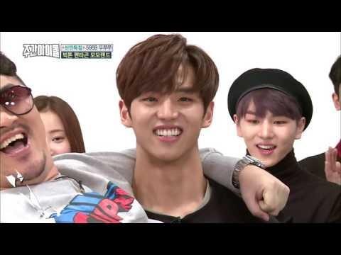 Weekly Idol EP 288 (PENTAGON Hongseok Vs. VICTON Seungwoo CUT)