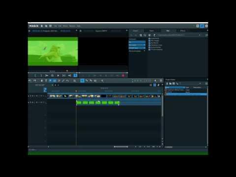 how-to-use-green-screen-magix-movie-edit-pro,-magix-video-pro-x