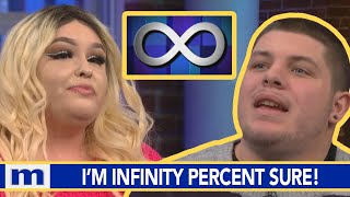 I'm infinity percent sure...You ARE the father! | The Maury Show