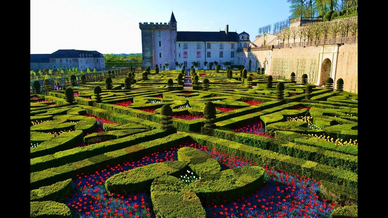 Very Nice Garden Villandry France Chateau De Villandry