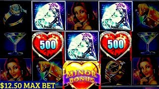 Lock It Link Slot Machine - $12.50 Max Bet Bonus ❤ Happy Valentine's Day❤  | MINOR JACKPOT