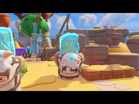 Mario + Rabbids Kingdom Battle Challenge 2-8 Statue Rendezvous