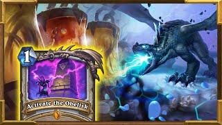 Hearthstone: Quest Control Resurrect Priest Is The Best Deck Part 1 | Descent of Dragons New Decks