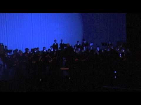 The American School of Doha Wind Ensemble-Abide With Me