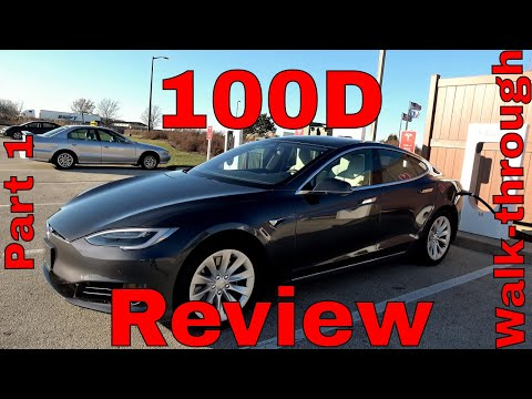 Tesla 100D Review on BRAND NEW CARPart 1