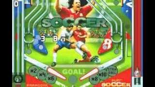 hardcore pinball for GameBoy Advance (soccer table)