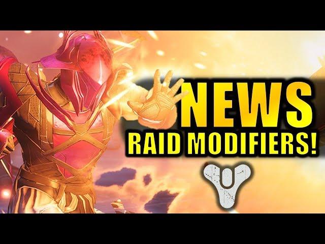 Destiny 2 News: RAID UPDATES! Nightfall Changes & Exclusive Loot!