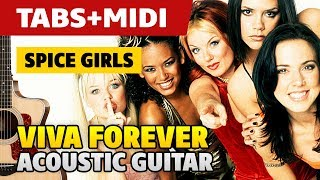 Spice Girls – Viva Forever (Guitar cover with TABS)