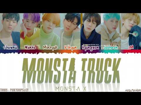 MONSTA X (몬스타엑스) - 'MONSTA TRUCK' Lyrics [Color Coded_Han_Rom_Eng]