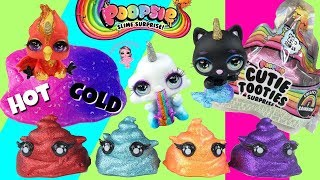 Poopsie Cutie Tooties Suprise Unboxing and Weight Hacks Super Ultra Rare Ash Color Changing Slime