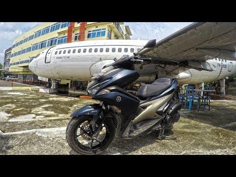 REVIEW MOTOR BARU DI BAWAH PESAWAT | AEROX 155 VVA