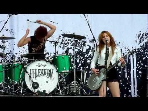Halestorm - I Get Off (Live - Download Festival, Donington, UK, June 2012)