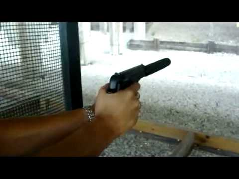 Smith & Wesson Model 2214 w/ AAC Aviator Silencer