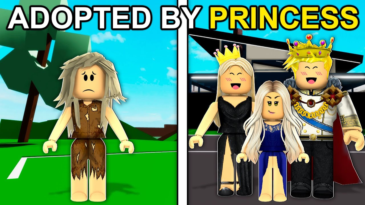 Download Adopted By A PRINCESS.. (Roblox Brookhaven)
