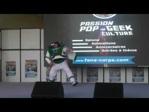 related image - Mangame Show - Fréjus - 2016 - Concours Cosplay Samedi - 02 - Toy Story - Buzz l'éclair