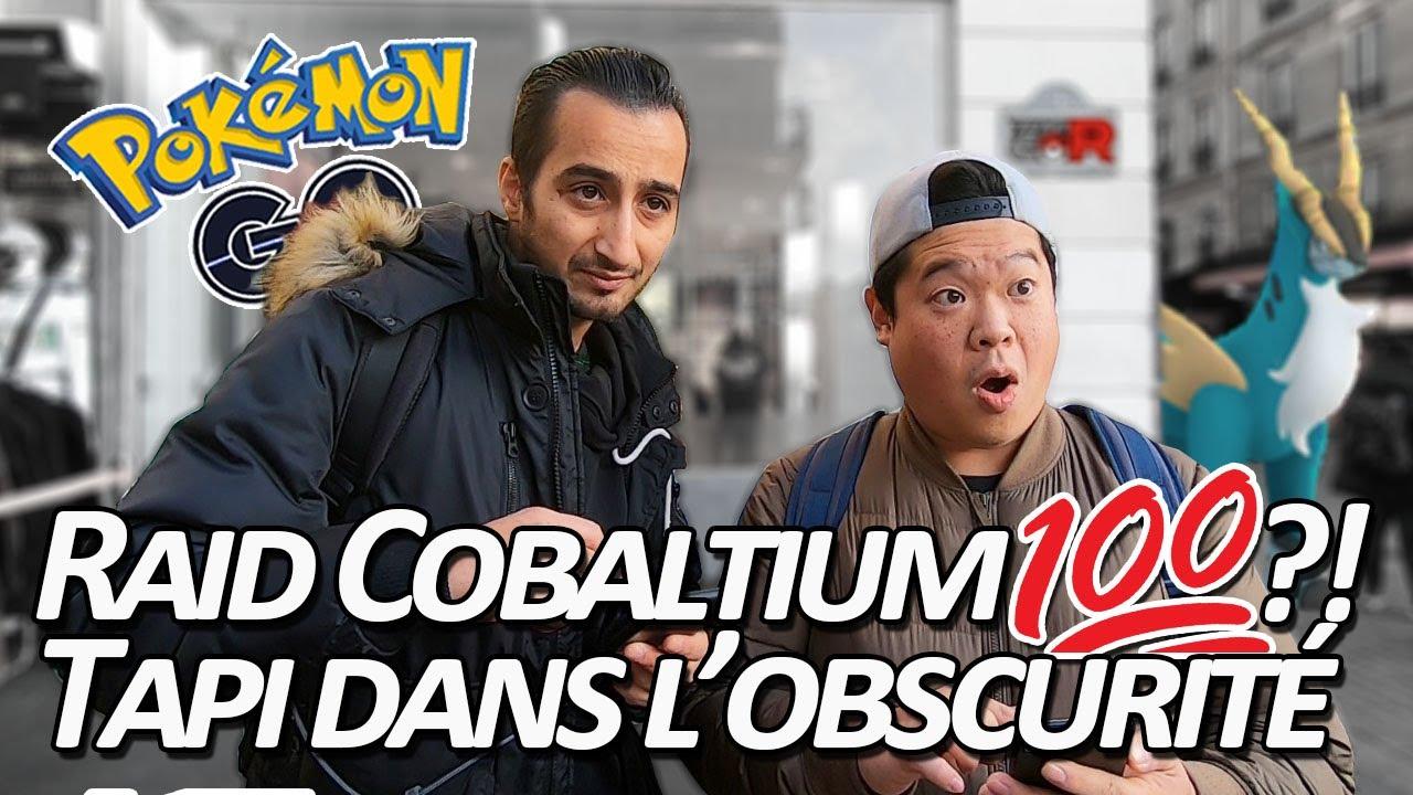 seb et ouss etude speciale tapi dans l obscurite acte i raid cobaltium pokemon go
