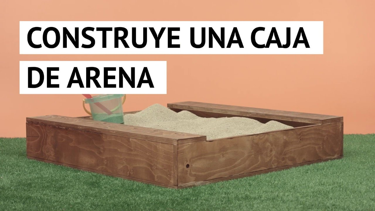 Construir Una Caja De Arena Youtube