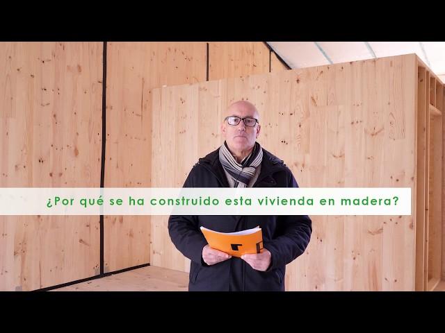 Razones del arquitecto para construir una vivienda con madera