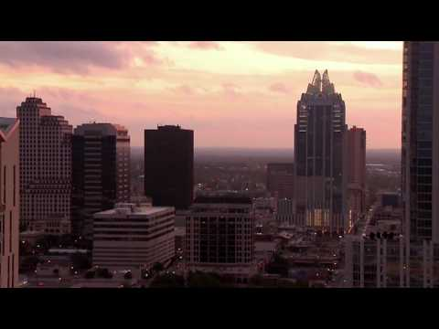 The views from Spring Condominium in downtown Austin