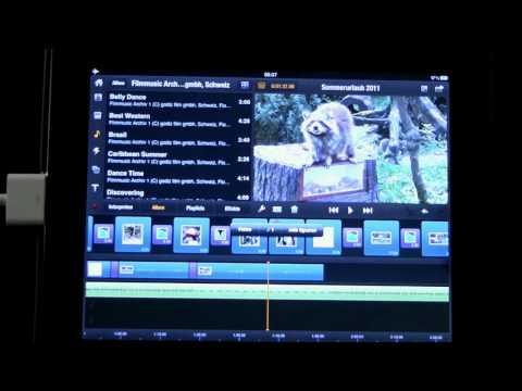 10 Avid Studio iPad Audiobearbeitung   hinzufügen von Musik und Audioeffekten