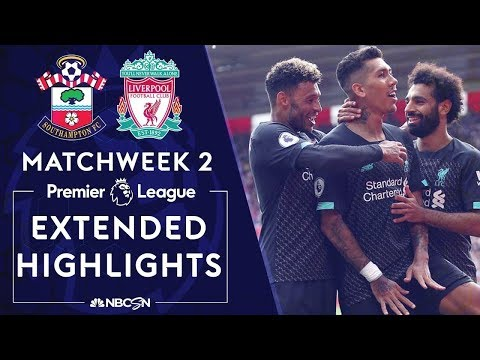 Southampton v. Liverpool   PREMIER LEAGUE HIGHLIGHTS   8/17/19   NBC Sports