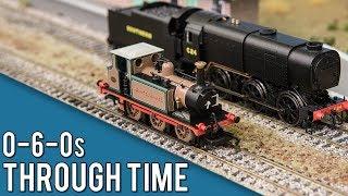 The Evolution of 0-6-0 Steam Trains