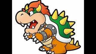 Paper Mario - Bowser, King of the Koopas (In-Game Ver.)