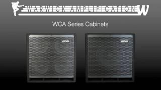 Warwick WA Heads and WCA Cabinets