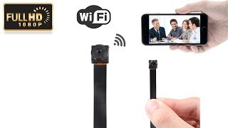 HD 1080P Mini Super Small Portable P2P Wireless WiFi Hidden Spy Camera , DVR8611