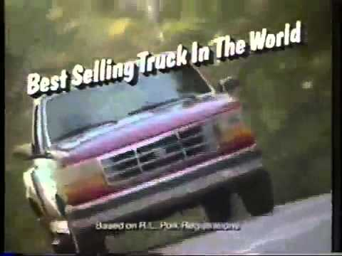 80s commercials  Ford Truck Month October 1994  YouTube