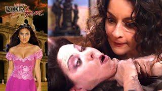La que no podía amar: ¡Cynthia pierde el control con Rosaura! | Escena C67