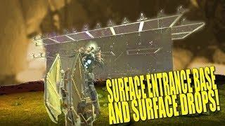 SURFACE ENTRANCE BASE AND DROP HUNTING! (Pvp)- Ark: aberration - Ep.7