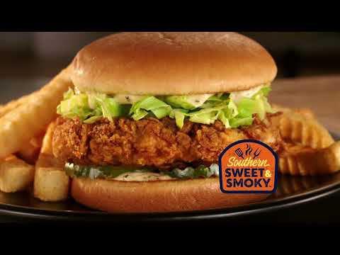 The Southern Sweet & Smoky Chicken Sandwich