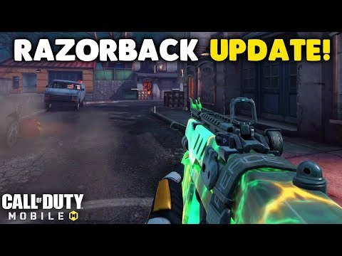 Call Of Duty Changed The Razorback!