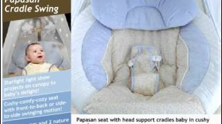 Fisher-price Papasan Cradle Swing Starlight Baby Swing