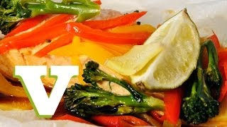 Steamed Salmon With Rainbow Veg: Back To Basics S02e5/8