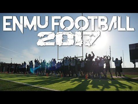 ENMU Football 2017 - Spring Hype Video