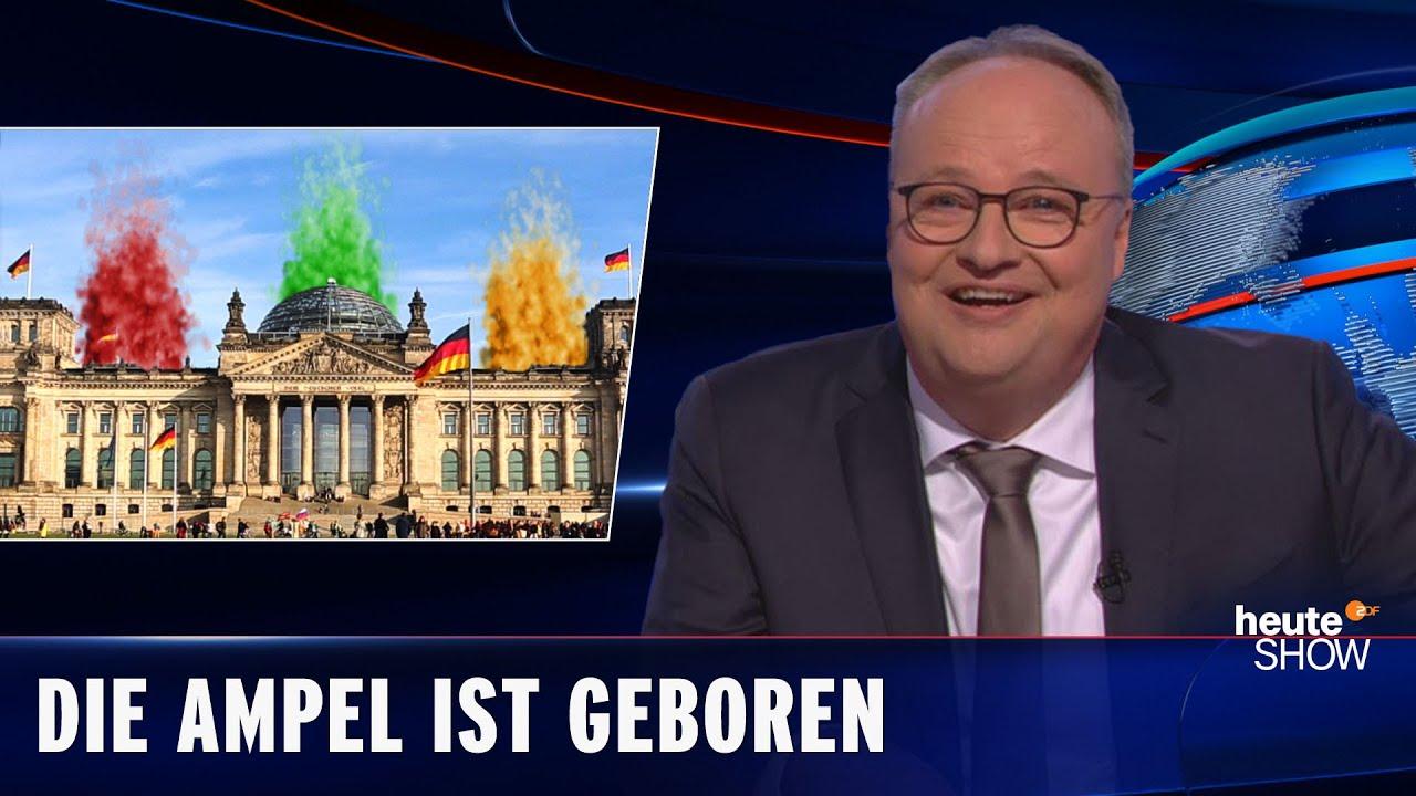 Download Rot-gelb-grüner Rauch über Berlin: Die Ampel verhandelt eine Koalition | heute-show vom 15.10.2021