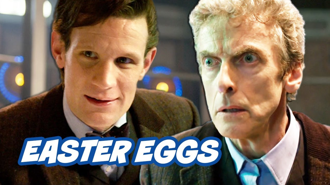 Doctor Who Christmas Special 2013.Doctor Who Christmas Special 2013 Easter Eggs Wholock Week