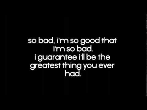 So Bad - Eminem Lyrics