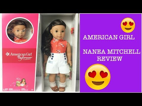 New American Girl Nanea Mitchell Doll Review!!